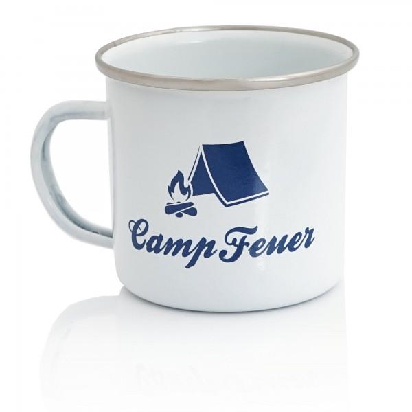 Campfeuer Emaillierte Tasse - 350 ml