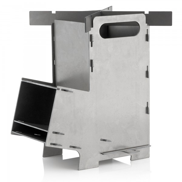 BBQ-Toro Raketenofen RAKETE #5, Rocket Stove Stecksystem