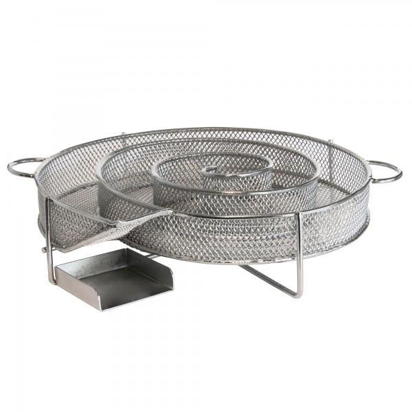 BBQ-TORO Edelstahl Kaltrauchgenerator, Ø 16 cm, KRG1