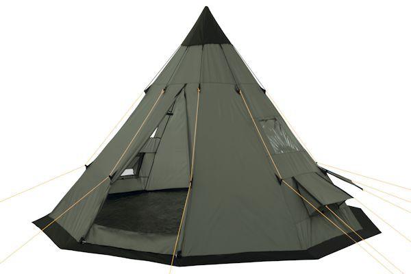 CampFeuer - Tipi Zelt (Teepee) - Indianerzelt, olivgrün