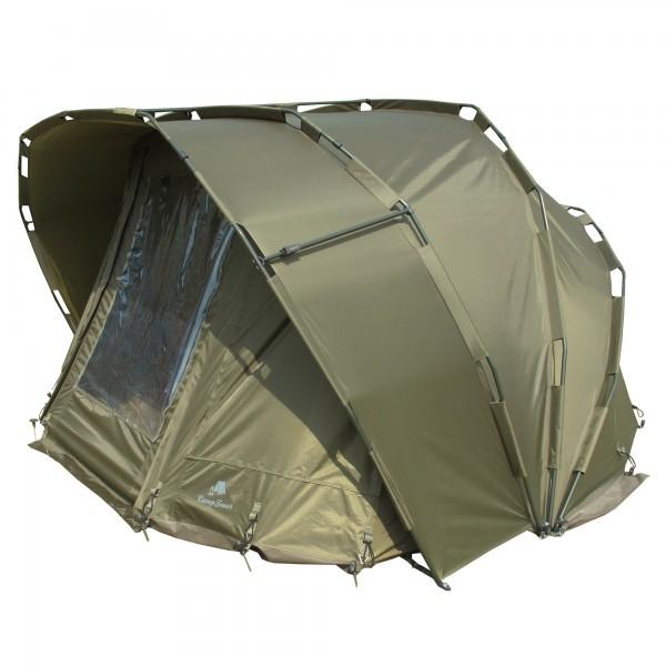 """CampFeuer Angelzelt """"Typhoon"""", 2 Mann Karpfenzelt, Bivvy, 10.000 mm"""